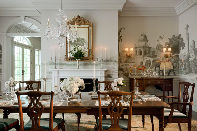 Connecticut estate traditional dining room new york for Traditional formal dining room ideas