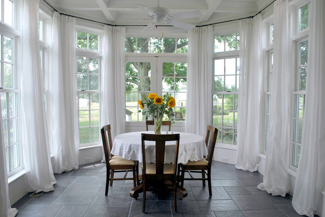 Conservatory Traditional Dining Room Other By