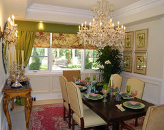 Construction/Full Design traditional-dining-room