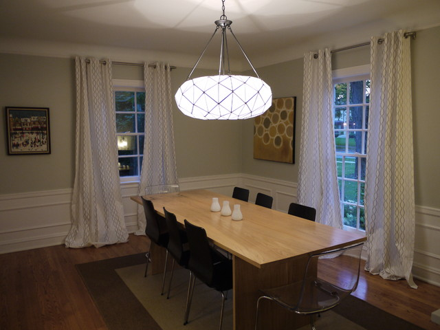 contemporary dining room by Brooke Marks, Symmetry Home Staging and Design