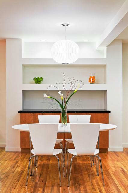 Contemporary Bungalow contemporary-dining-room