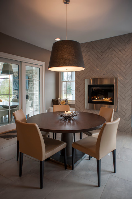 Contemporary design for Dining room design questions