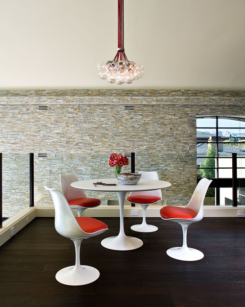Contemporary dining area