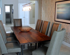 Miramar contemporary-dining-room