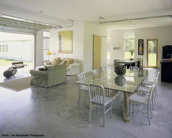 Artist's Residence contemporary-dining-room
