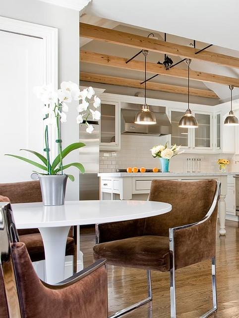 North Cambridge contemporary-dining-room