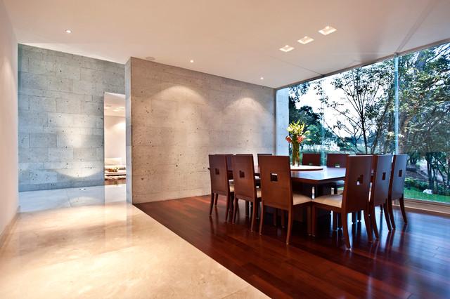 Contemporary Dining Room contemporain-salle-a-manger