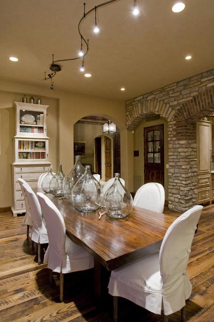 Contemporary Dining Room mediterranean-dining-room