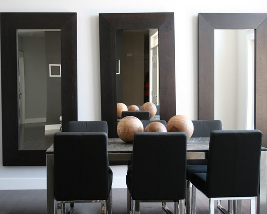 mirrors in dining room home design ideas pictures