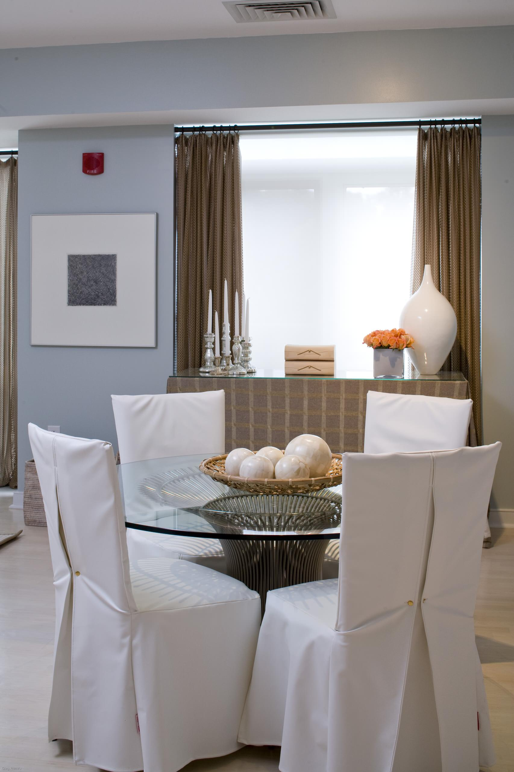 Dining Chair Slipcovers Contemporary, Dining Room Slipcovers