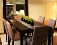 rentfluff.com contemporary-dining-room