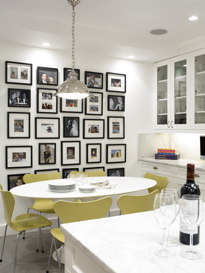 How to Hang Wall Art: Groups of Artwork