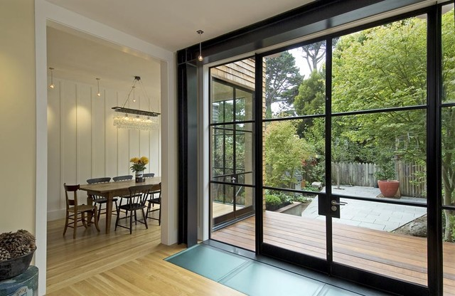 Crittal Steel Windows Amp Doors Contemporary Dining Room
