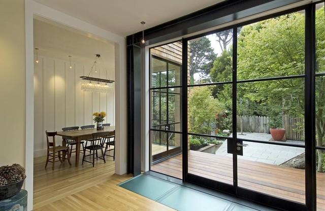 Crittal steel windows doors contemporary dining room for Window and door company