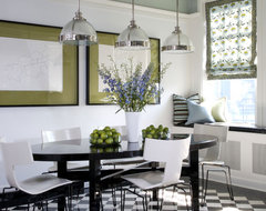 Vintage Residence contemporary dining room