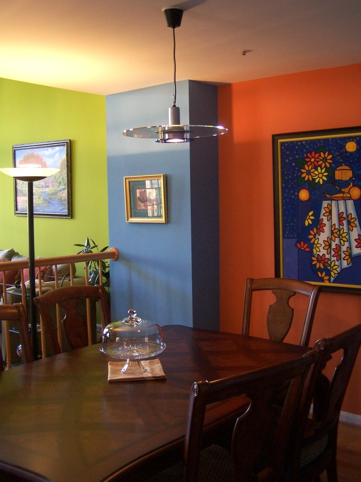 Trendy dining room photo in Other
