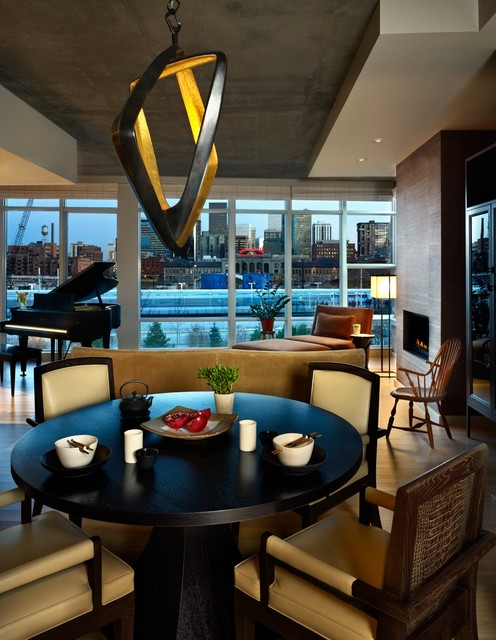 Riverfront Park Residence contemporary dining room
