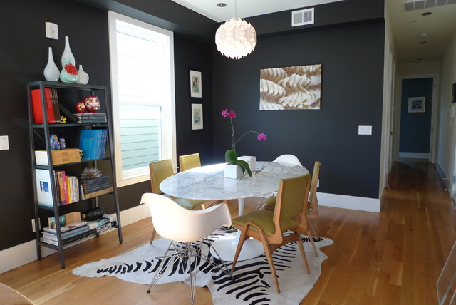 Modern Dining Rooms 2012 2012 chez noz: dining area - contemporary - dining room - san