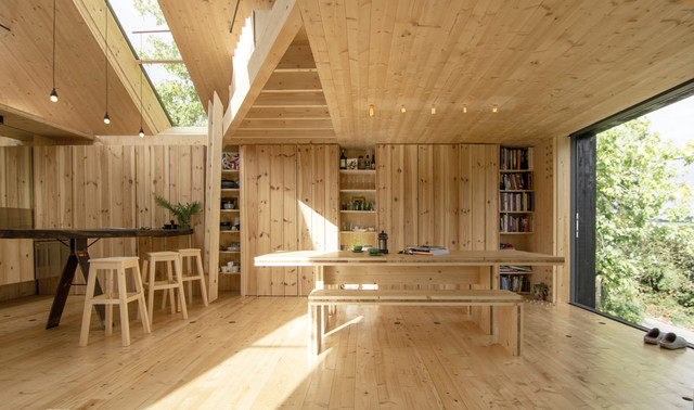 Timber Design Houses InteriorsGrand Designs House