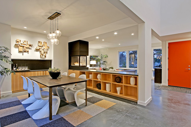 residential staging dedicated to the sale contemporary-dining-room
