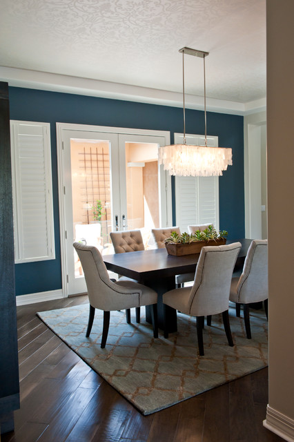 Windgate Ranch - Contemporary - Dining Room - phoenix - by Red Egg Design Group