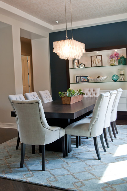 Windgate Ranch contemporary-dining-room