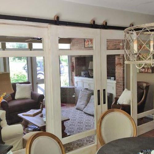 Dining Room Doors: Modern Barn Door Hardware