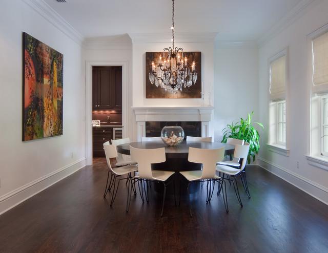 Hardwood Floors contemporary-dining-room