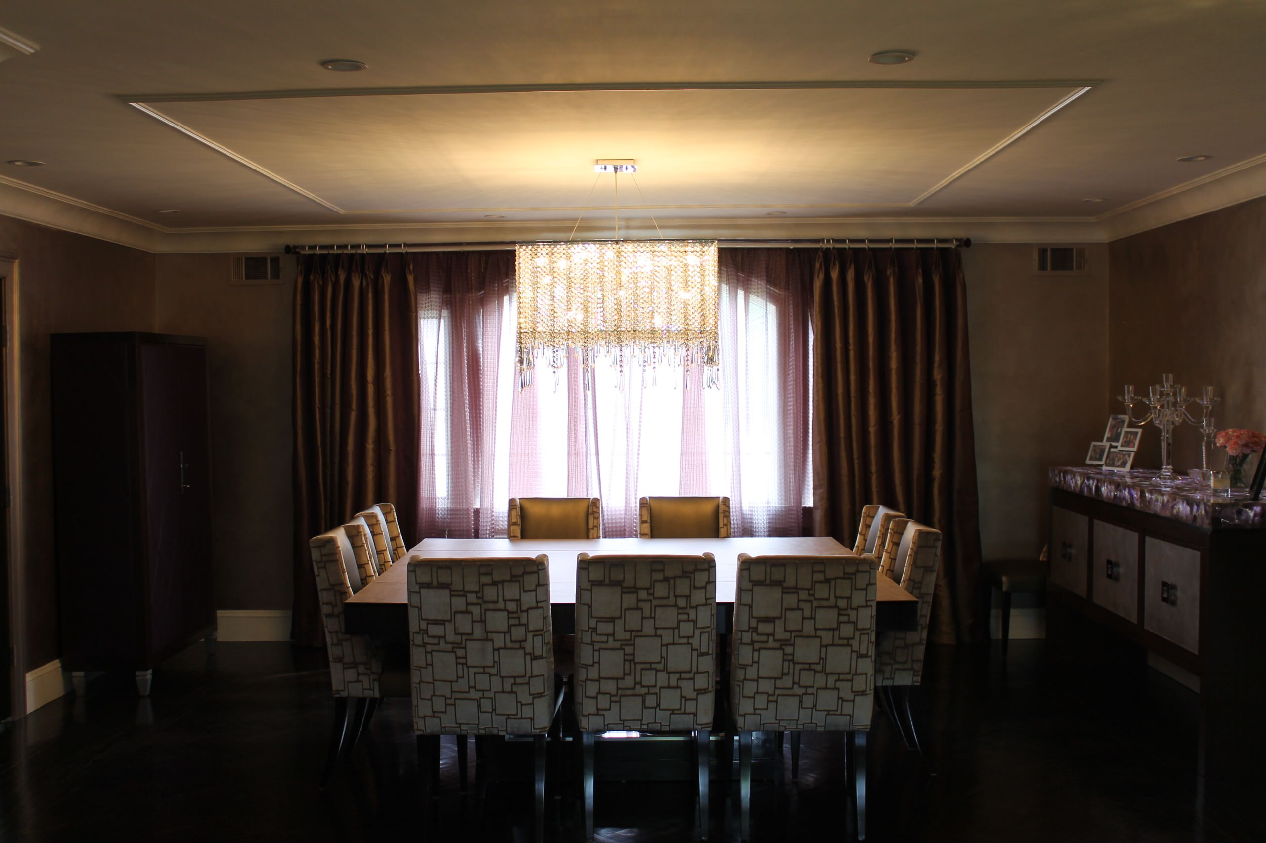 Contemporary Dining room Woodmere, NY Home