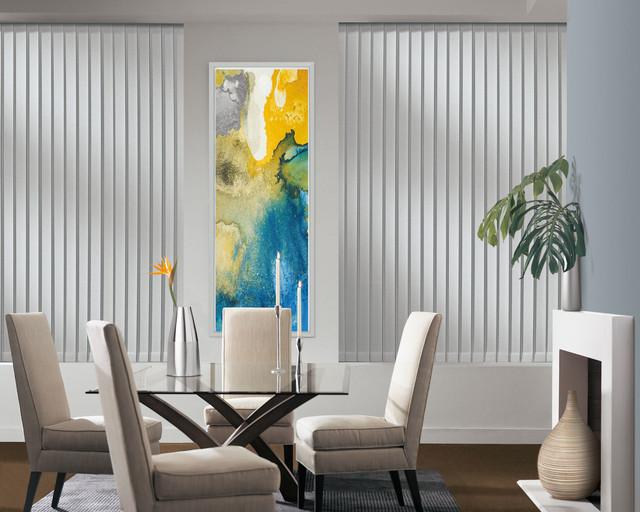 Custom Window Vertical Blinds