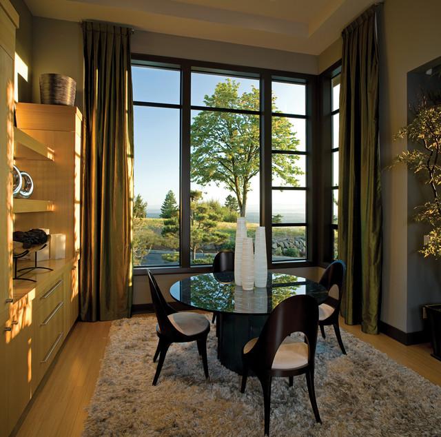 Contemporary Modern Windowscontemporary Dining Room Seattle