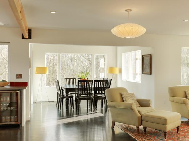 Contemporary Renovation contemporary-dining-room
