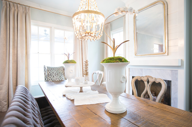 Contemporary Style at The Townes contemporary-dining-room
