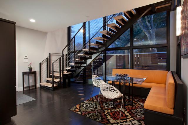 Contemporary Tarrytown Renovation contemporary-dining-room