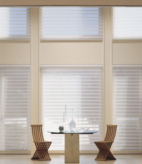 Dining Room Custom Window Shadings By