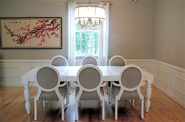 contemporary dining room by Melissa Miranda Interior Design