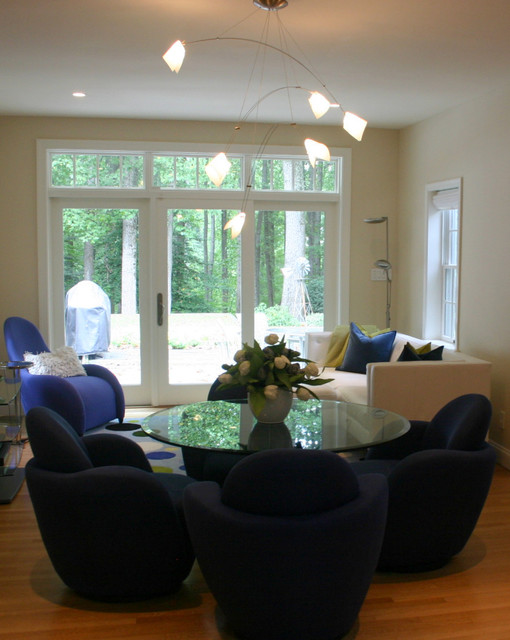 Cool And Modern Dining Area Family Room Modern Dining