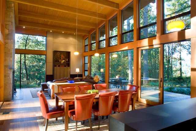 Coop 15 Architecture contemporary dining room