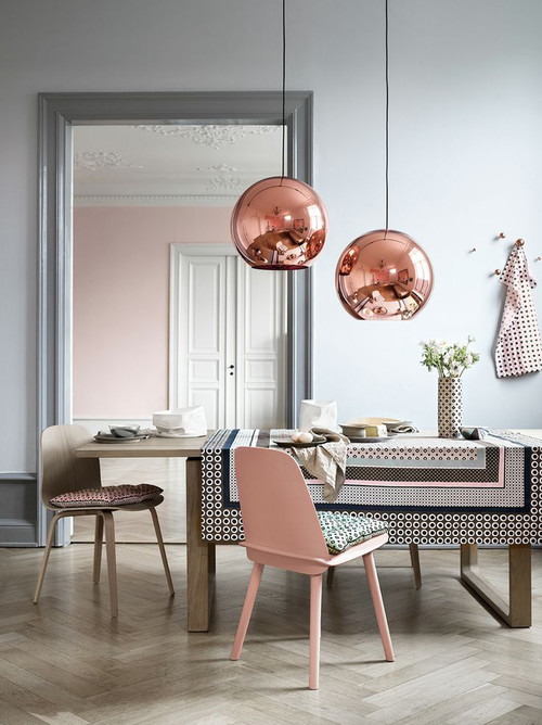 Copper/Bronze Globe Pendant Lights
