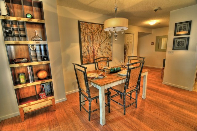 Copperfield Park Show Home A traditional-dining-room