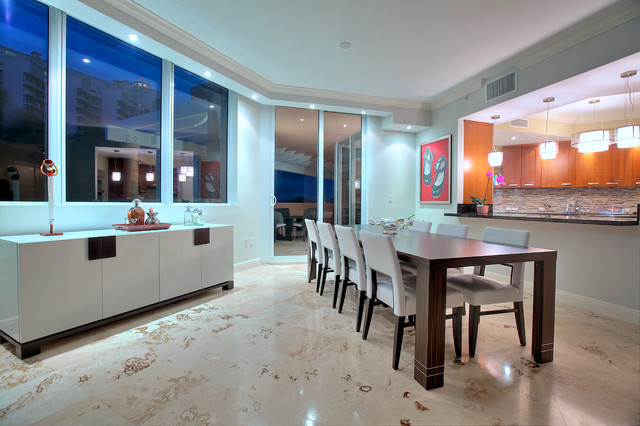 Coral Gables 4G contemporary-dining-room