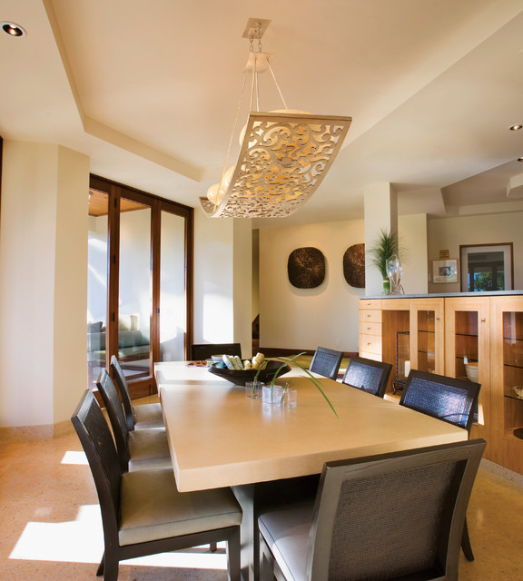 Bon Corbett Lighting Contemporary Dining Room
