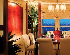 Corbett Lighting contemporary-dining-room