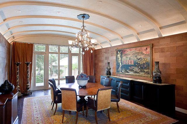 Cord Shiflet Lake Austin Estate contemporary-dining-room