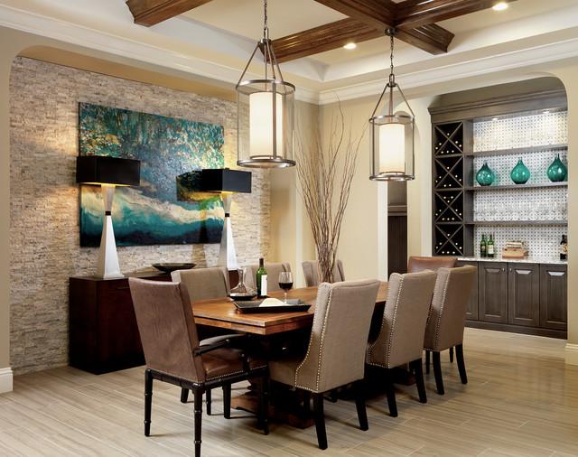 Interior Design Gallery Transitional Dining Room