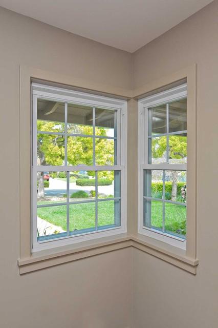 garage improvement ideas images - Corner Window