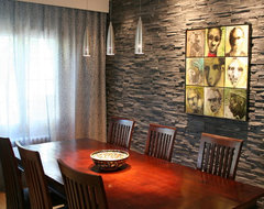 Cottage remodel contemporary-dining-room