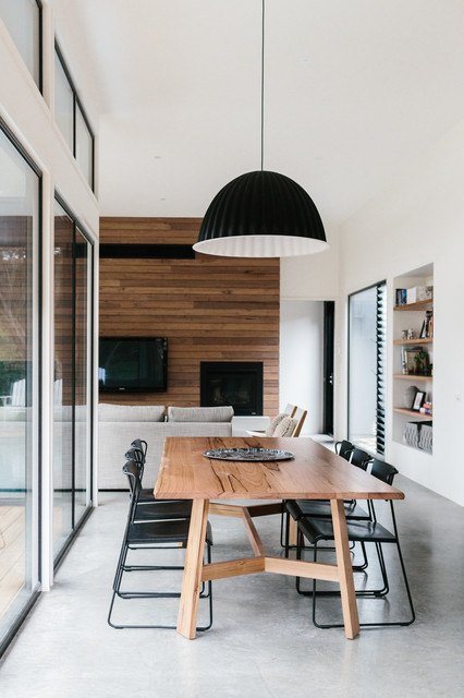 Cottesloe Residence Contemporary Dining Room Geelong