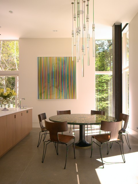 Country Chic Dining Room modern-dining-room