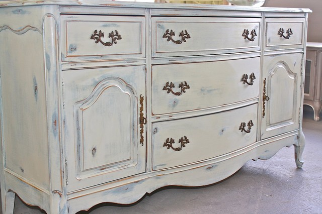 Country Cottage Dresser - Traditional - Dining Room - Atlanta